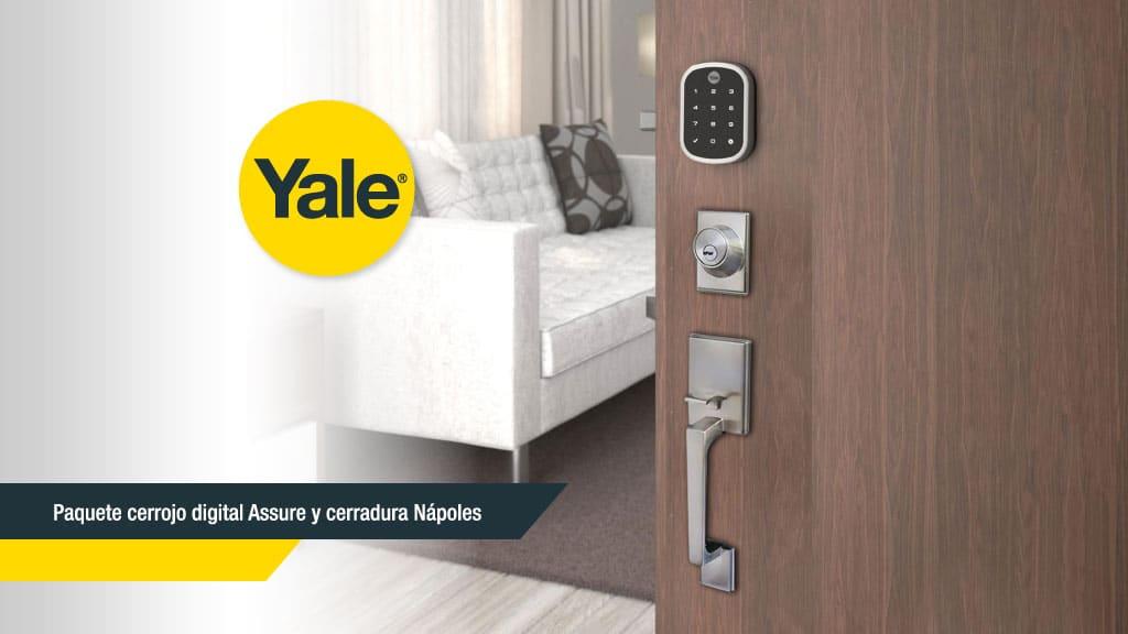 Cerradura Assure YRD256 ideal para proteger tu hogar