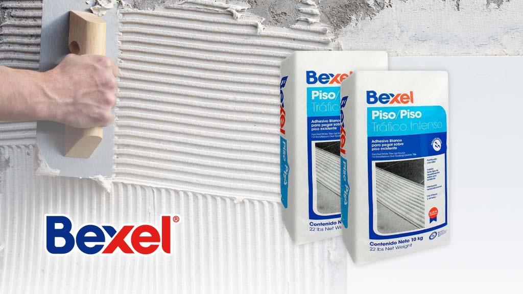 Conoces el Adhesivo Piso Sobre Piso Tráfico Intenso de Bexel