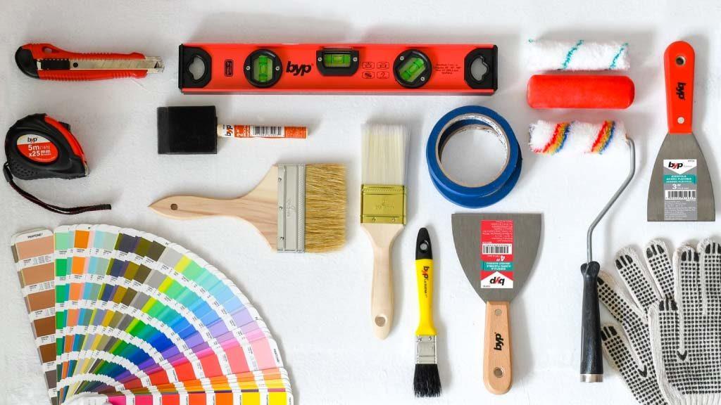 Cuales son las mejores herramientas para pintar tu hogar