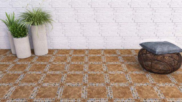 Pisos geométricos para interiores o exteriores