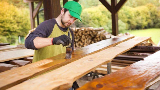Sabes cómo pintar un acabado vintage en madera