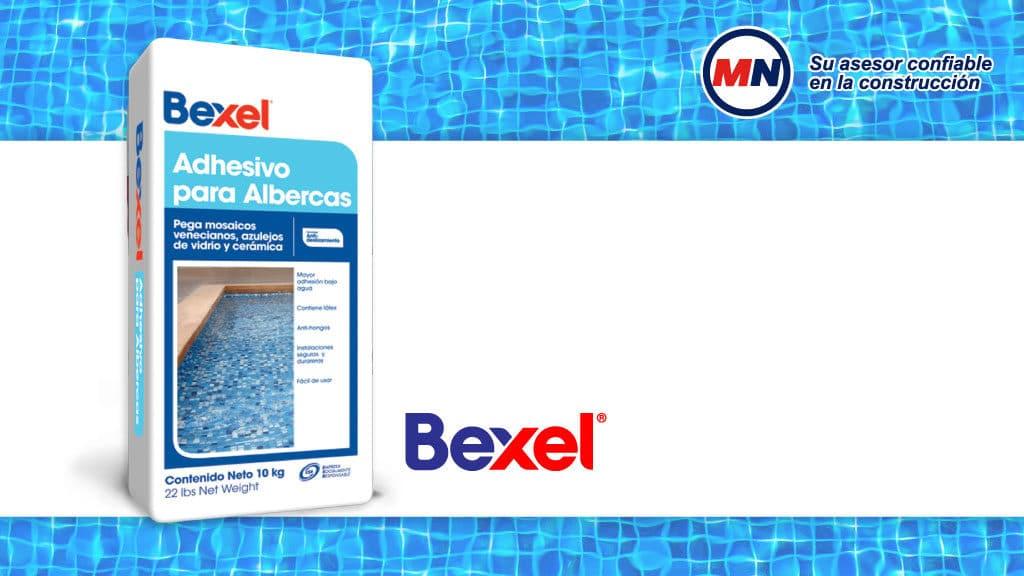Conoces el Adhesivo para albercas de Bexel