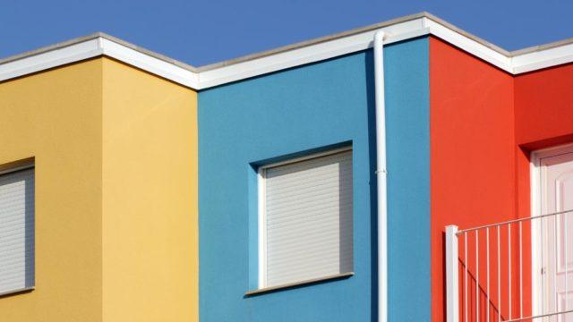 Consejos para pintar las paredes exteriores y fachadas de tu hogar