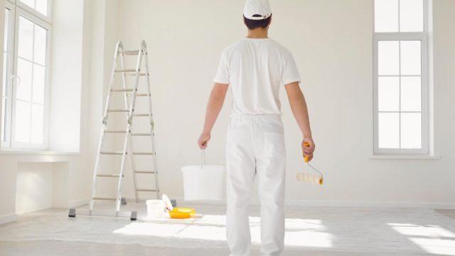 Como aplicar correctamente una pintura lavable1